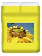 Sunflower Art Prints Honey Bee Sun Flower Floral Garden Duvet Cover