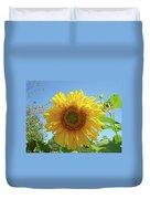Sunflower Art Prints Sun Flower 2 Giclee Prints Baslee Troutman Duvet Cover
