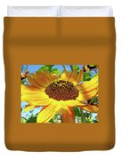 Sunflower Art Prints Sun Flowers Gilcee Prints Baslee Troutman Duvet Cover