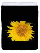 Sunflower At Dusk Duvet Cover