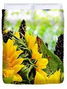 Sunflower Bouquet 2 Duvet Cover