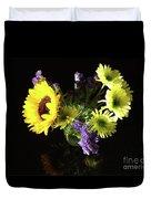 Sunflower Bouquet Duvet Cover