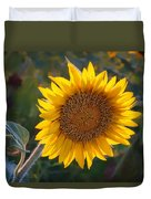 Sunflower - Facing East Duvet Cover