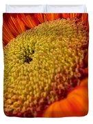 Sunflower Fire 1 Duvet Cover