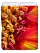 Sunflower Fire 4 Duvet Cover