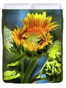 Sunflower Glory Duvet Cover