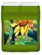 Sunflower Head 4 Duvet Cover