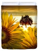 Sunflower Heaven Duvet Cover