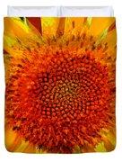 Sunflower In The Sun Duvet Cover