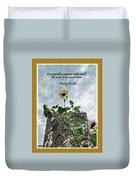 Sunflower Inspiration Duvet Cover