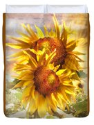 Sunflower Light Duvet Cover