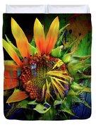 Sunflower Magic Duvet Cover
