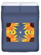 Sunflower Moon Duvet Cover
