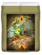 sunflower No. 9 Duvet Cover