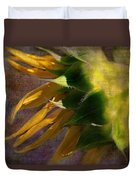 Sunflower On The Side Duvet Cover