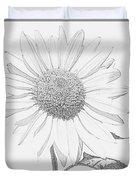 Sunflower  P Duvet Cover