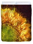 Sunflower Pencil Duvet Cover