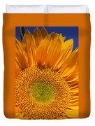 Sunflower Petals Duvet Cover by Garry Gay