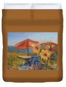 Sunflower Picnic Duvet Cover