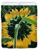Sunflower Rear Duvet Cover