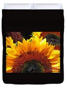 Sunflower Rise Duvet Cover