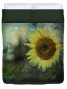 Sunflower Sea Duvet Cover