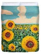 Sunflower Serendipity Duvet Cover