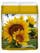 Sunflower Show Duvet Cover