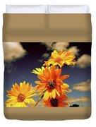 Sunflower Skies Duvet Cover