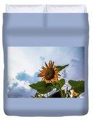 Sunflower Sky Duvet Cover