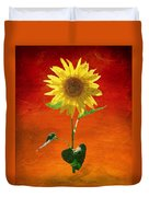Sunflower Summer  Duvet Cover