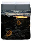 Sunflower Sunset Duvet Cover