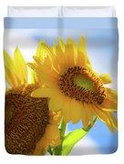 Sunflower Twins Duvet Cover