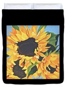 Sunflowers #3 Duvet Cover