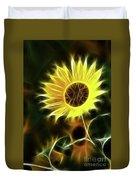 Sunflowers-5200-fractal Duvet Cover