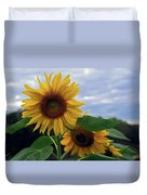 Sunflowers Close Up Duvet Cover