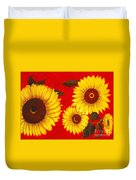 Sunflowers IIi Duvet Cover