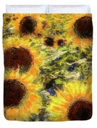 Sunflowers Summer Van Gogh Duvet Cover