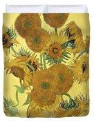 Sunflowers Duvet Cover by Vincent Van Gogh