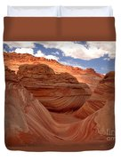 Sunkiss At Coyote Buttes Duvet Cover