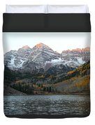 First Light Duvet Cover by Eric Glaser