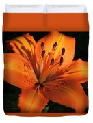 Sunkissed Lily Duvet Cover