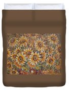 Sunlight Bouquet. Duvet Cover