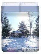 Sunlight In Winter Duvet Cover
