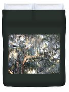 Sunlight On Mossy Tree Duvet Cover