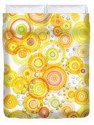 Sunlight Ripples Duvet Cover