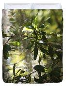 Sunlight Through The Oak Duvet Cover