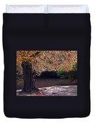 Sunlit Autumn Canopy Duvet Cover