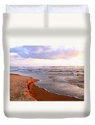 Sunlit Cannon Beach Duvet Cover