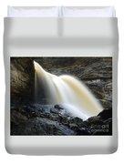 Sunlit Falls Duvet Cover